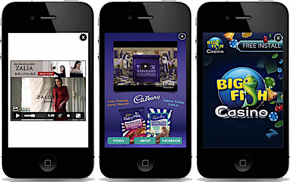 Limited Ads & Banners in Mobile Application